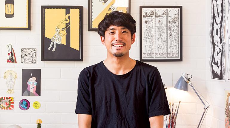 悉尼冲浪文化与日本漫画的艺术碰撞